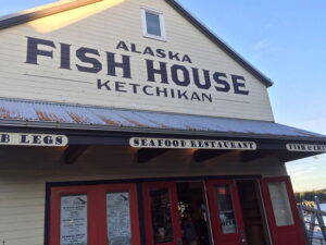 Casa del pescado en Ketchican