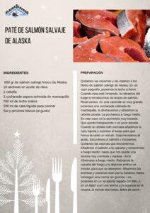 Paté de salmón salvaje de Alaska