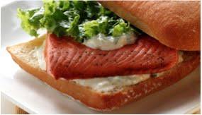 Chapata de salmón