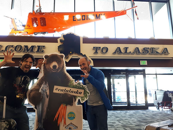 Dos chefs españoles en Alaska