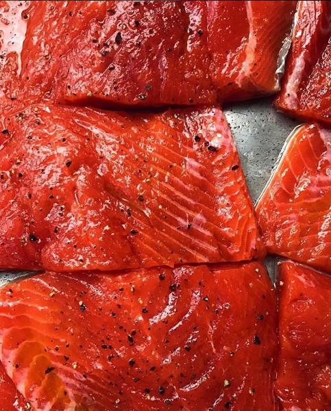 Salmón salvaje de Alaska, ¡una muy buena alternativa a la carne!